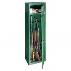 Dulap arme GUN 5 verde cu cheie, 5 arme, fara certificare