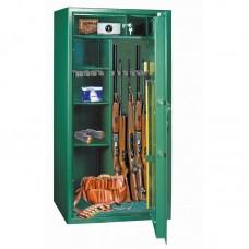 Dulap arme MONTANA 10 verde cu cheie, 10 arme, fara certificare