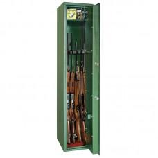 Dulap arme MONTANA 5 verde cu cheie, 5 arme, fara certificare