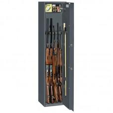 Dulap arme OPTIMA 5 S1 antracit cu cheie, 5 arme, certificat S1 EN 14450