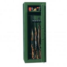 Dulap arme SAFARI 10 verde cu cheie, 10 arme, certificat VDMA B