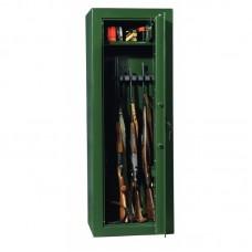 Dulap arme SAFARI 8 verde cu cheie, 8 arme, certificat VDMA B