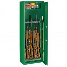 Dulap arme SELECT 8 S1 verde cu cheie, 8 arme, certificat S1 EN 14450