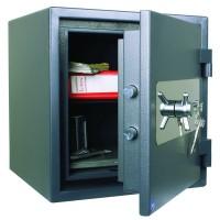 ASG 46 - seif cu cheie, certificat antiefractie clasa 1 EN 1143, 68 kg