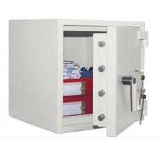 Banker M 55 - seif cu doua incuietori cu cheie certificat antiefractie cu clasa 4 EN 1143, 287 KG
