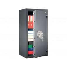 Burgas 1061 - seif cu doua incuietori cu cheie, certificat antiefractie clasa 5 EN 1141, 970 KG