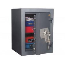 Burgas 67 - seif cu doua incuietori cu cheie, certificat antiefractie clasa 5 EN 1141, 672 KG